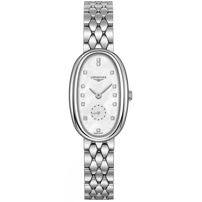 Longines Women's L23064876 Symphonette Diamond Stainless Steel Watch