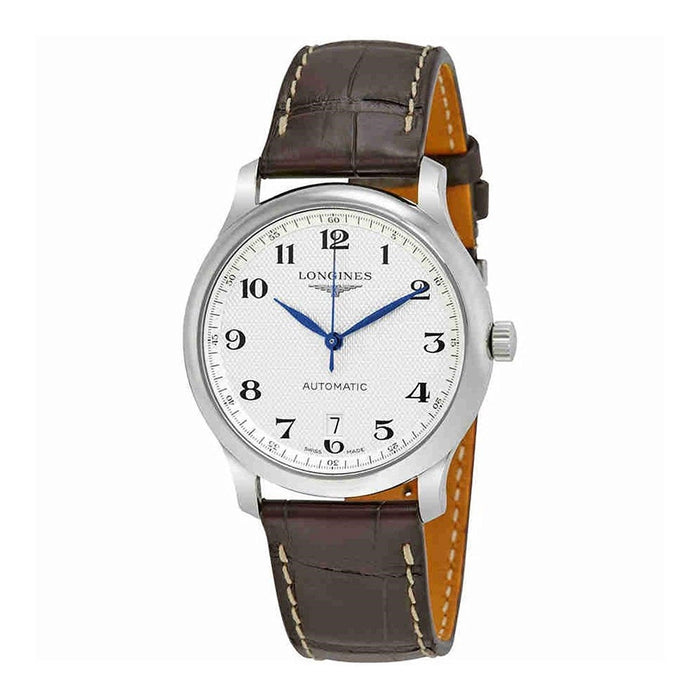 Longines Men's L26284783 Master Automatic Brown Leather Watch