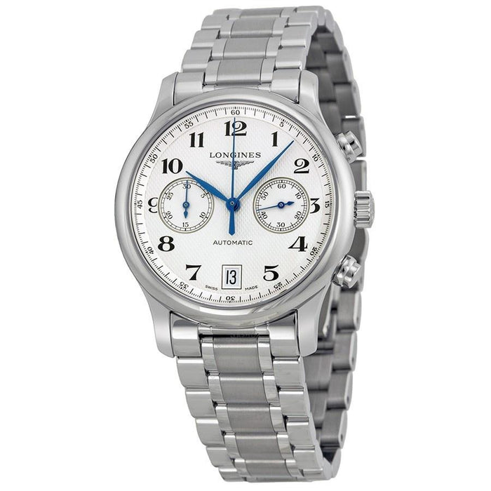 Longines Men's L26694786 Master Collection Chronograph Automatic Stainless Steel Watch