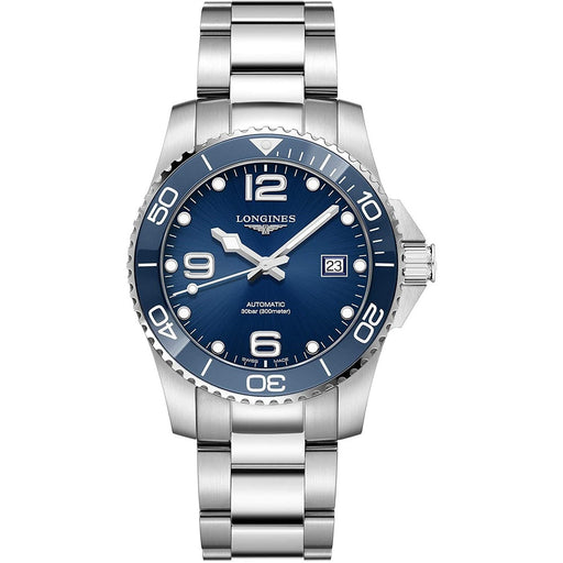 Longines Men's L3.781.4.96.6 HydroConquest Stainless Steel Watch