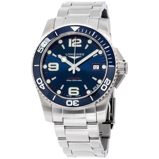 Longines Men's L37424986 USA Exclusive HydroConquest Stainless Steel Watch