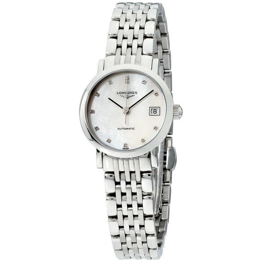 Longines Women's L4.309.4.87.6 Elegant Stainless Steel Watch