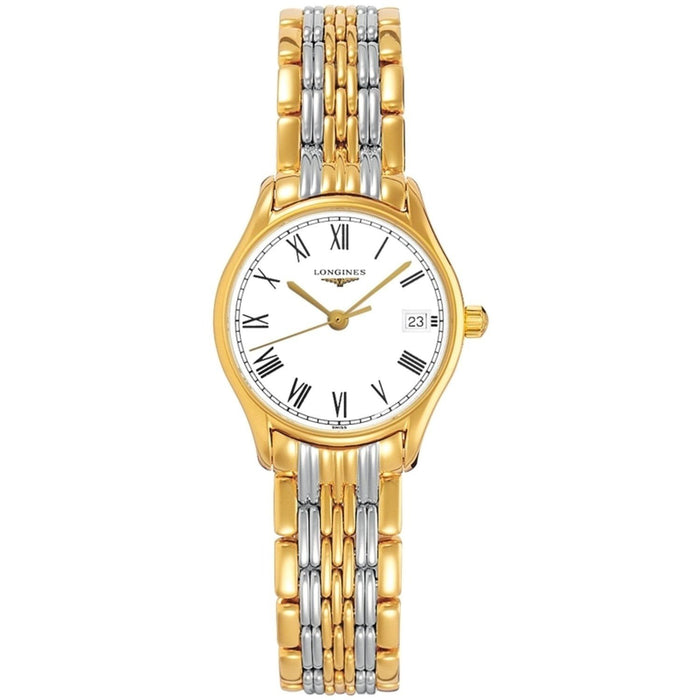 Longines Women's L42592117 Lyre Two-Tone Stainless Steel Watch
