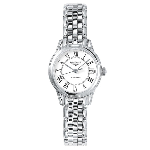 Longines Women's L42744216 Flagship Stainless Steel Watch