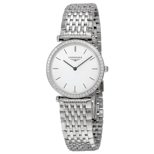 Longines Women's L45130126 La Grande Classique Diamond Stainless Steel Watch