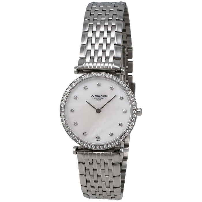 Longines Women's L45130876 La Grandes Classiques Flagship Diamond Stainless Steel Watch