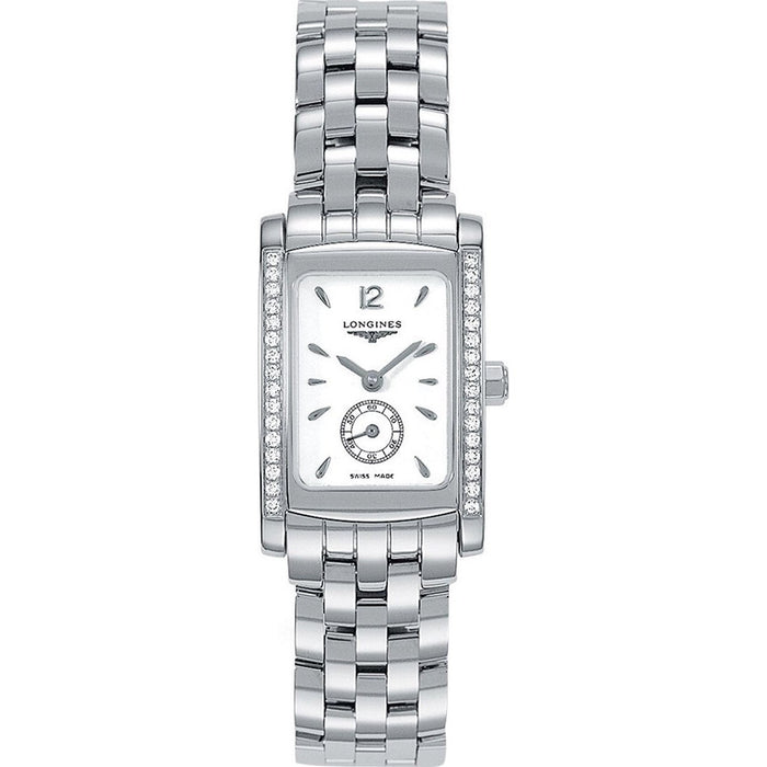 Longines Women's L51550166 Dolce Vita Diamond Stainless Steel Watch