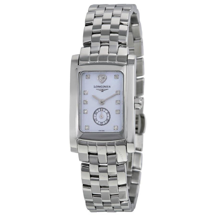 Longines Women's L51554926 Dolce Vita Limited Edition Audrey Hepburn Heart Diamond Stainless Steel Watch