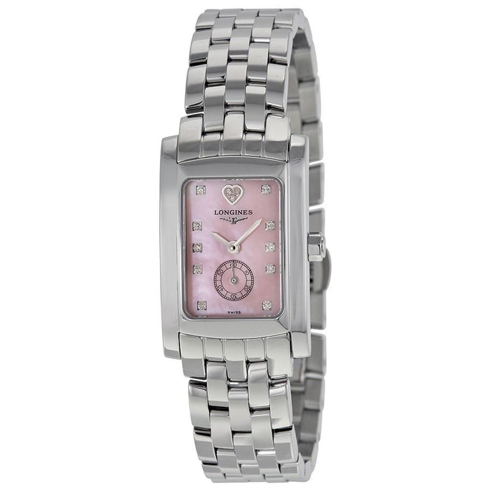 Longines Women's L51554936 Dolce Vita Limited Edition Audrey Hepburn Heart Diamond Stainless Steel Watch