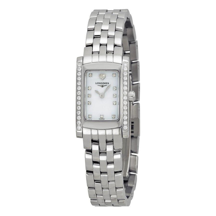 Longines Women's L51580926 Dolce Vita Diamond Stainless Steel Watch