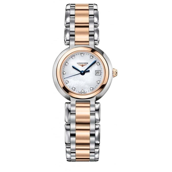 Longines Women's L8.110.5.87.6 PrimaLuna Two-Tone Stainless Steel Watch