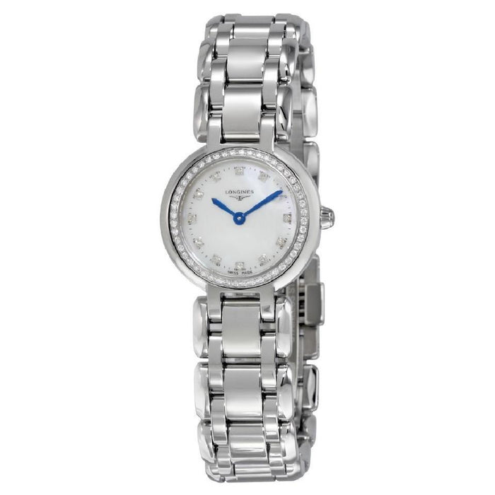 Longines Women's L81090876 PrimaLuna Diamond Stainless Steel Watch