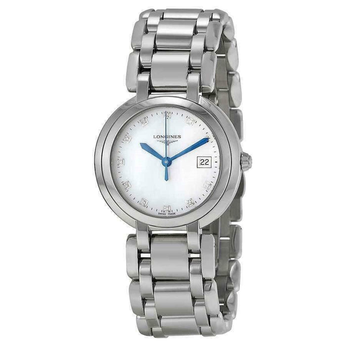 Longines Women's L81124876 PrimaLuna Stainless Steel Watch