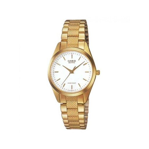 Casio Women's LTP-1274G-7A Classic Gold-Tone Stainless Steel Watch