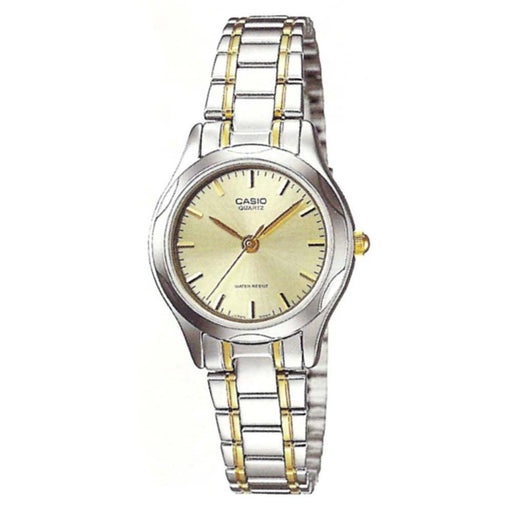 Casio Women's LTP-1275SG-9A Classic Two-Tone Stainless Steel Watch