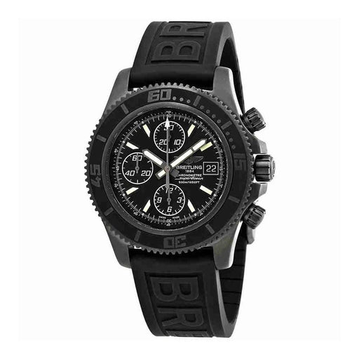 Breitling Men's M13341B7-BD11-153S Superocean Chronograph II Chronograph Black Rubber Diver Pro III Watch