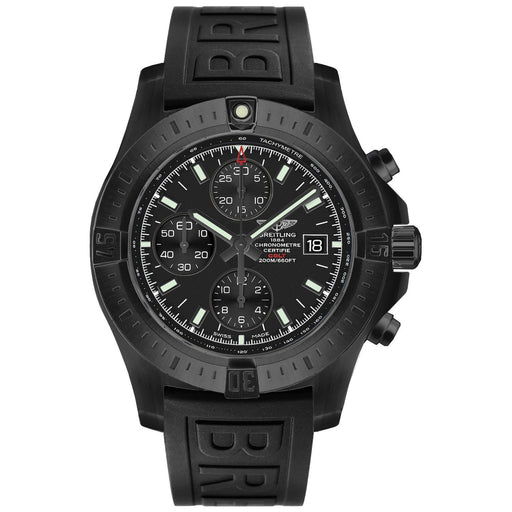 Breitling Men's M1338810-BF01-152S Colt  Chronograph Black Rubber Watch