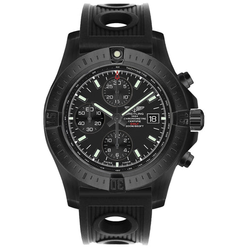 Breitling Men's M1338810-BF01-200S Colt  Chronograph Black Rubber Watch