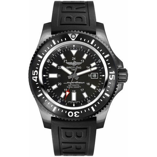 Breitling Men's M1739313-BE92-153S Superocean Black Rubber Watch