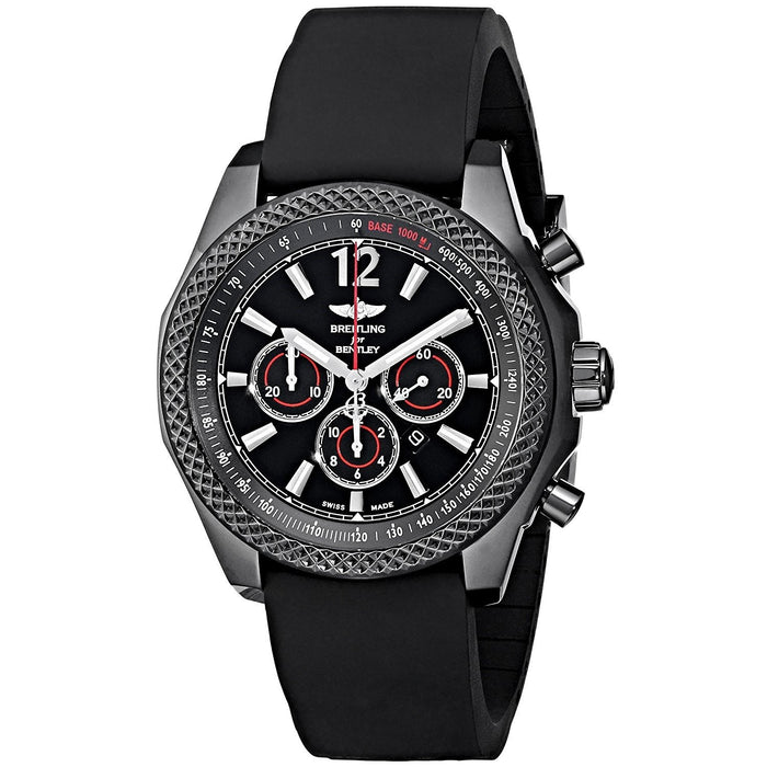 Breitling Men's M4139024-BB85 Bar42 Automatic Chronograph Black Rubber Watch