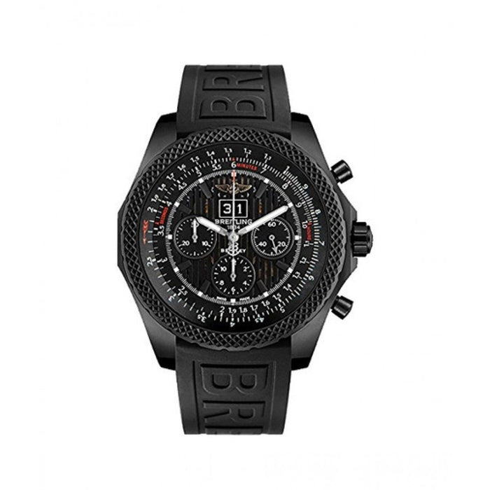 Breitling Men's M4436413-BD27-155S Bentley 6.75 Chronograph Black Rubber Diver Pro III Watch