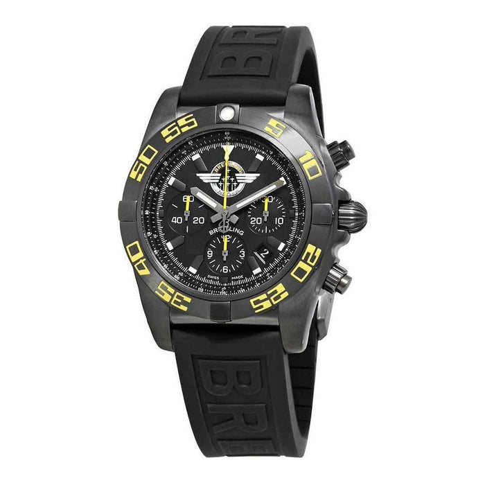 Breitling Men's MB01109P-BD48-153S Chronomat 44 Chronograph Black Rubber Diver Pro III Watch