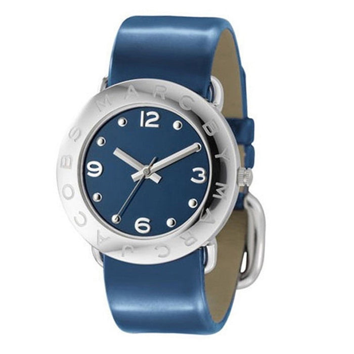 Marc Jacobs Women's MBM1137 Amy Blue Leather Watch