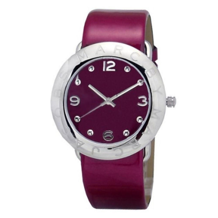 Marc Jacobs Women's MBM1138 Amy Red Leather Watch