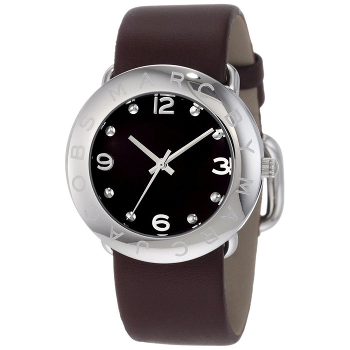 Marc Jacobs Women's MBM1139 Amy Brown Leather Watch