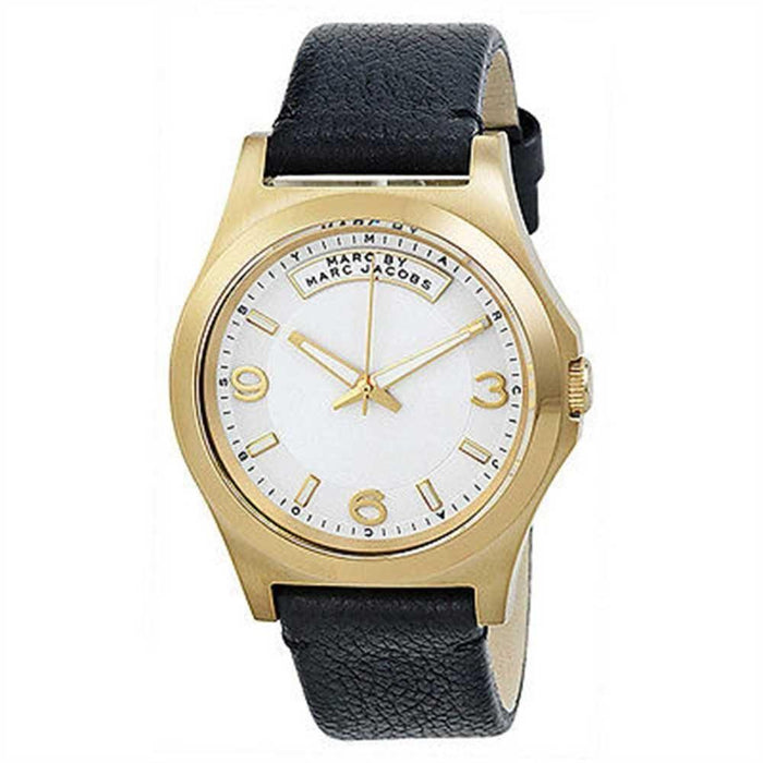 Marc Jacobs Women's MBM1264 Dave Black Leather Watch
