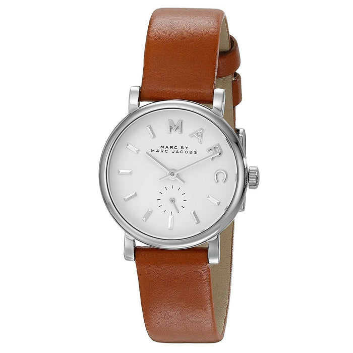 Marc Jacobs Women's MBM1270 Baker Brown Leather Watch