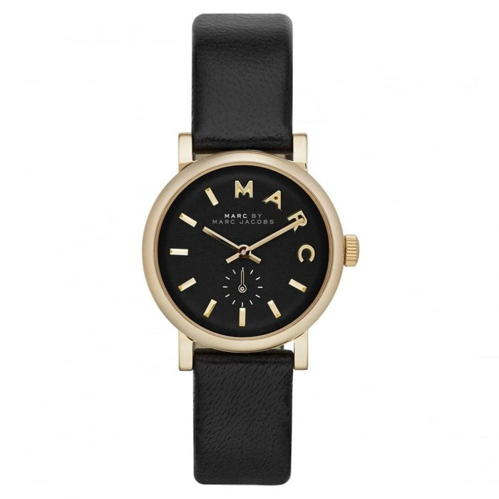 Marc Jacobs Women's MBM1273 Baker Black Leather Watch