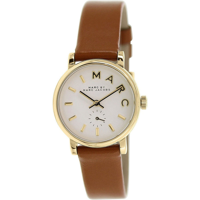 Marc Jacobs Women's MBM1317 Tan Brown Leather Watch
