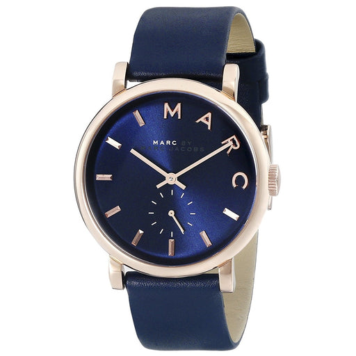 Marc Jacobs Women's MBM1329 Baker Blue Leather Watch
