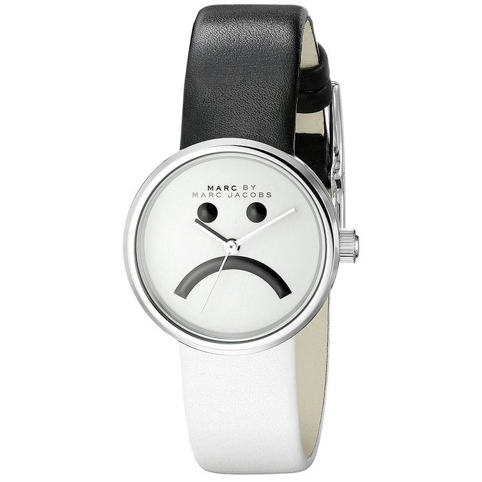 Marc Jacobs Women's MBM1372 Peggy Black and white Leather Watch
