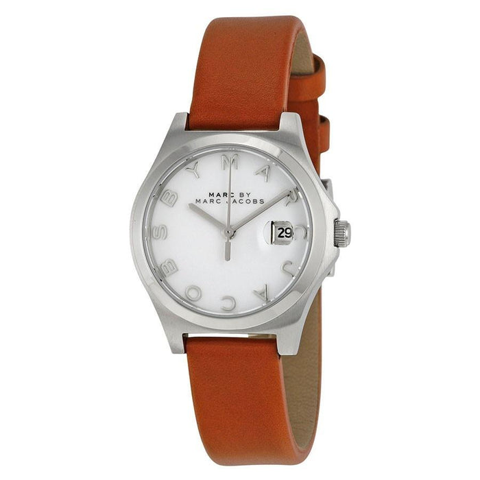 Marc Jacobs Women's MBM1373 Slim Brown Leather Watch