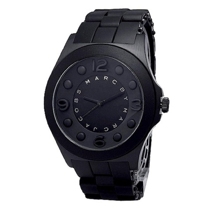Marc Jacobs Women's MBM2531 Pelly Black Silicone Watch