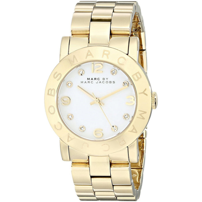 Marc Jacobs Women's MBM3056 Amy Gold-Tone Stainless Steel Watch