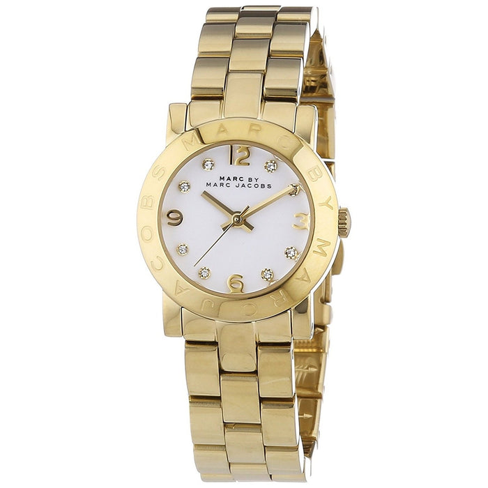 Marc Jacobs Women's MBM3057 Amy Gold-Tone Stainless Steel Watch
