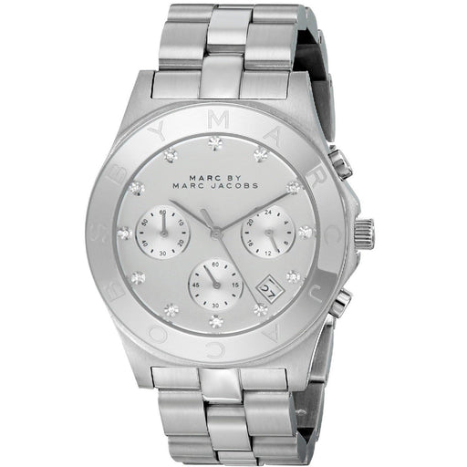 Marc Jacobs Women's MBM3100 Blade Chronograph Stainless Steel Watch