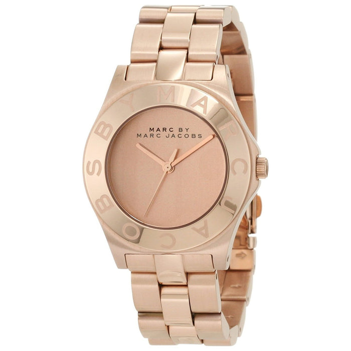 Marc Jacobs Women's MBM3127 Blade Rose-Tone Stainless Steel Watch