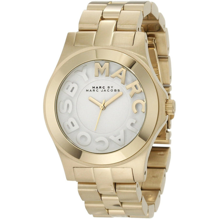 Marc Jacobs Women's MBM3134 Rivera Gold-Tone Stainless Steel Watch