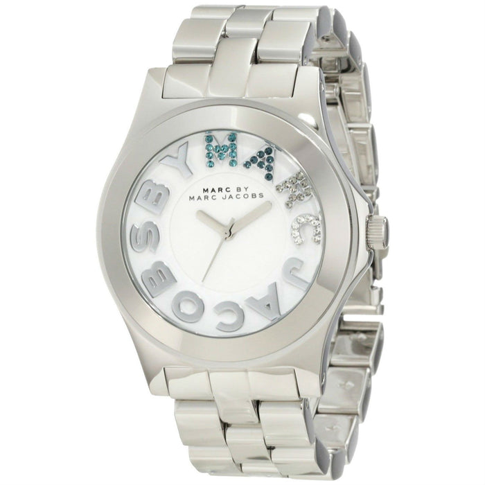 Marc Jacobs Women's MBM3136 Rivera Crystal Stainless Steel Watch
