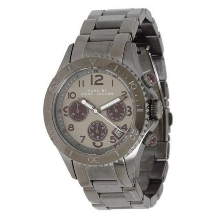 Marc Jacobs Women's MBM3160 Rock Chronograph Stainless Steel Watch
