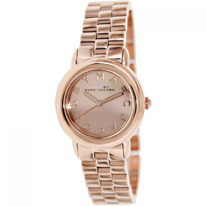 Marc Jacobs Women's MBM3175 Mini Marci Rose-Tone Stainless Steel Watch