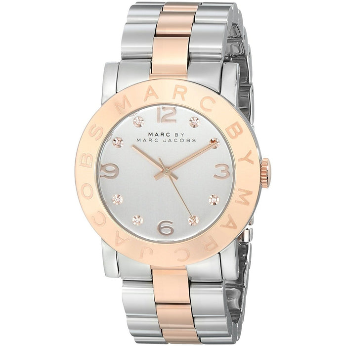 Marc Jacobs Women's MBM3194 Amy Two-Tone Stainless Steel Watch