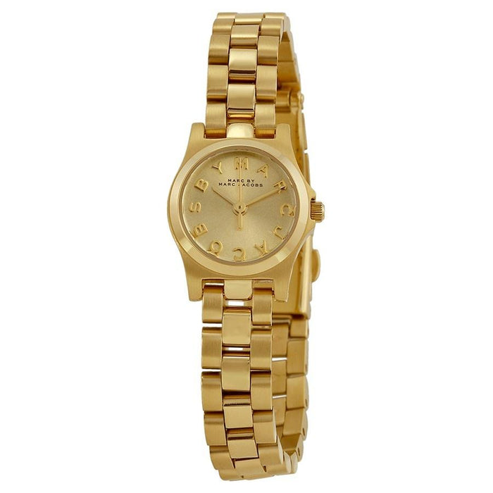 Marc Jacobs Women's MBM3199 Henry Gold-Tone Stainless Steel Watch