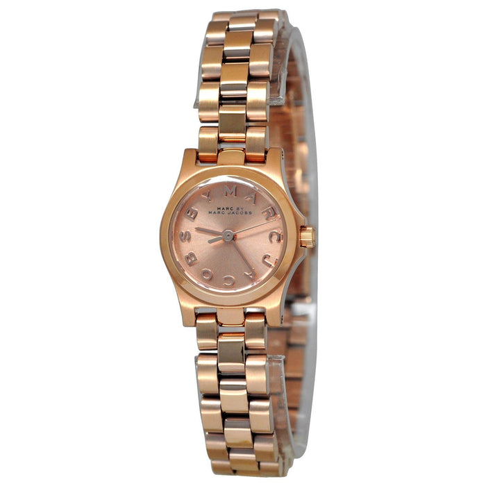 Marc Jacobs Women's MBM3200 Henry Dinky Rose-Tone Stainless Steel Watch