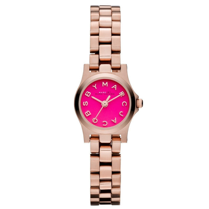 Marc Jacobs Women's MBM3203 Dinky Rose-Tone Stainless Steel Watch
