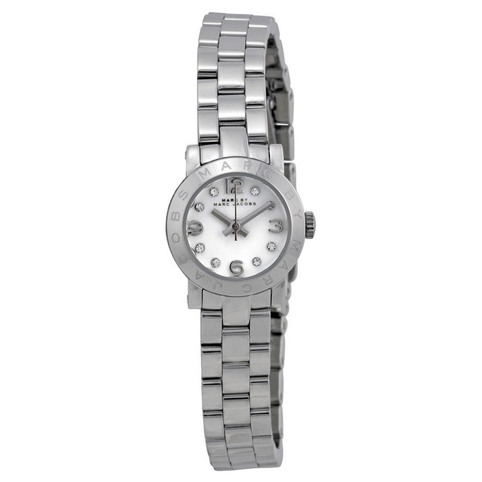Marc Jacobs Women's MBM3225 Amy Dinky Crystal Stainless Steel Watch
